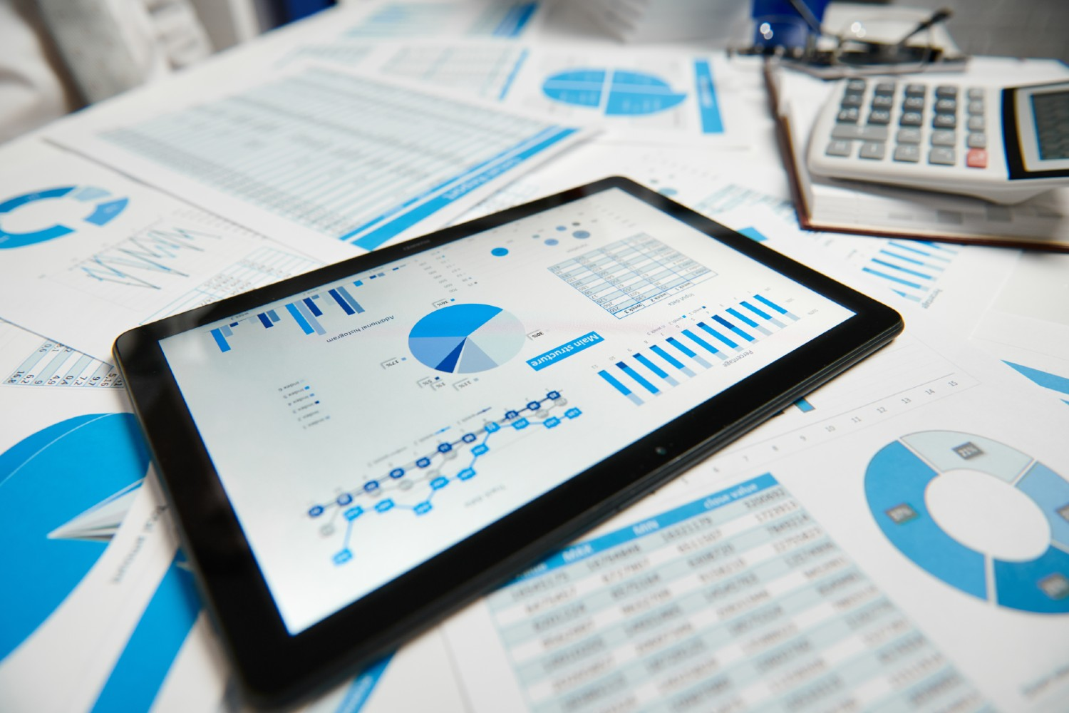 Financial Reporting Tablet