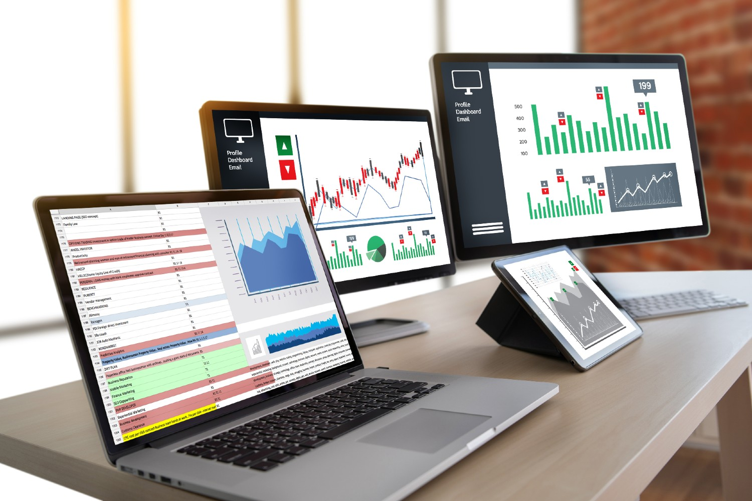 Data Analytics on Multiple Devices